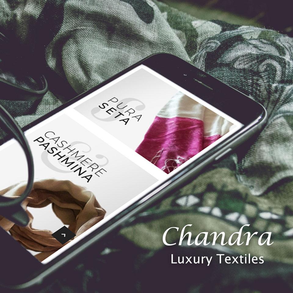Chandra Cashmere - Pashmine - Keyin web agency